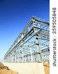 steel frame structure   Shutterstock . vector #359505848