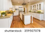 beautiful custom kitchen... | Shutterstock . vector #359507078