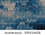 stock market graph background | Shutterstock . vector #359514428