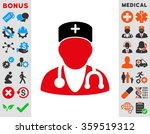 physician flat icon | Shutterstock . vector #359519312