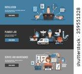 interactive webpage design for... | Shutterstock .eps vector #359551328