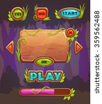 cartoon wooden game user...
