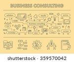 line design concept banner for... | Shutterstock .eps vector #359570042