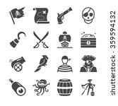Pirate Icons. Included The...