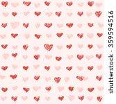 st valentine's day seamless... | Shutterstock .eps vector #359594516