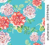 bright seamless pattern with... | Shutterstock . vector #359594696