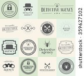 label badges and stamps set for ... | Shutterstock .eps vector #359627102
