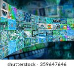 many abstract images on the... | Shutterstock . vector #359647646