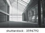 3d modern architecture | Shutterstock . vector #3596792