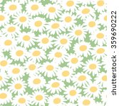 seamless floral pattern with... | Shutterstock .eps vector #359690222