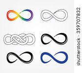 vector illustration infinity... | Shutterstock .eps vector #359707832