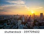 building cityscape sunset   Shutterstock . vector #359709602