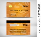 credit cards design   Shutterstock .eps vector #359718902