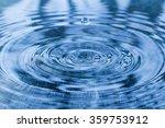 water drop   Shutterstock . vector #359753912