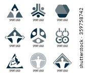 sport vector sport logos.... | Shutterstock .eps vector #359758742
