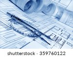 architectural project    | Shutterstock . vector #359760122