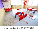 inside a classroom with school... | Shutterstock . vector #359767982