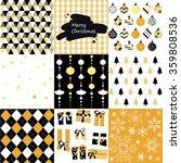 christmas patterns | Shutterstock .eps vector #359808536