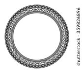 round vintage frame | Shutterstock . vector #359826896