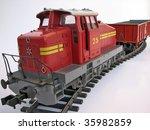 rail - stock photo