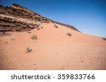 Jordanian Desert Of Wadi Rum I...