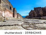 Pompeii City  Destroyed  In...