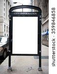 city information board | Shutterstock . vector #359846858