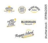 music festival logo | Shutterstock .eps vector #359862005