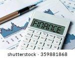 finance concept finance... | Shutterstock . vector #359881868