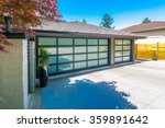 garage with wide  long nicely... | Shutterstock . vector #359891642