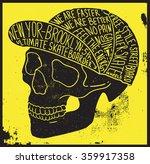 skull t shirt graphic   Shutterstock .eps vector #359917358