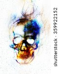 Skull And Fractal Effect....