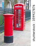 Famous Red Post Box And...