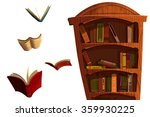 Clip Art Set  The Books And...