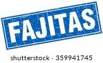 fajitas blue square grunge... | Shutterstock .eps vector #359941745