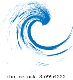 blue abstract wave . grunge... | Shutterstock .eps vector #359954222
