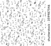 seamless pattern music  melody  ... | Shutterstock .eps vector #359987546
