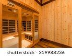 infrared sauna cabin   Shutterstock . vector #359988236