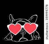 dog vector breed cute pet... | Shutterstock .eps vector #359995778