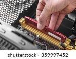 computer memory installation.... | Shutterstock . vector #359997452