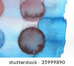 abstract watercolor background... | Shutterstock . vector #35999890