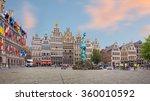 cental square of antwerp. city... | Shutterstock . vector #360010592