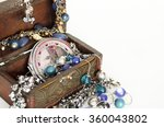 box with jewelry. ring ... | Shutterstock . vector #360043802