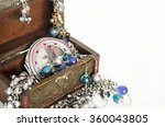 box with jewelry. ring ... | Shutterstock . vector #360043805
