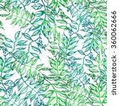 sweet pea. seamless pattern.... | Shutterstock .eps vector #360062666