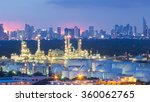petrochemical industrial... | Shutterstock . vector #360062765