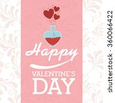 happy valentines day design  | Shutterstock .eps vector #360066422