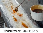 Maple Taffy On Snow During...