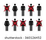layoffs   workforce reduction... | Shutterstock .eps vector #360126452