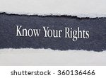 rip blue paper and white... | Shutterstock . vector #360136466